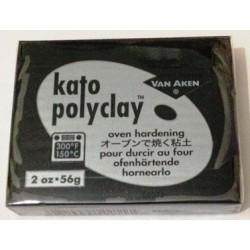 Kato Polyclay Nero piccolo