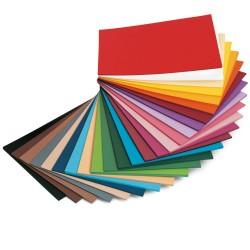 Cartoncino colorato rosso 160g