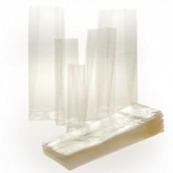 Sacchetti alimentari in plastica trasparente con fondo 9cmx25cm