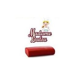 1 kg pasta di zucchero da copertura Madame Loulou rossa