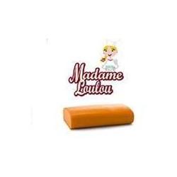 1 kg pasta di zucchero da copertura Madame Loulou arancione