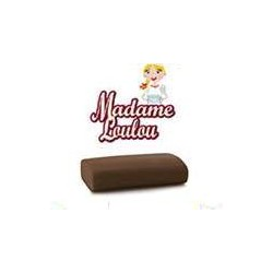 1 kg pasta di zucchero da copertura Madame Loulou marrone