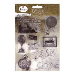 Clear Stamps Viaggio Nel Tempo Vintage