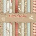 Carta Scrap assortita - Krafty Christmas