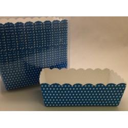 Scatoline rettangolari - Pois Azzurro