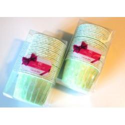 Pirottini plastificati - Fantasia verde