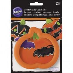 Wilton Zucca Halloween con pipistrello tagliapasta - cookie cutter