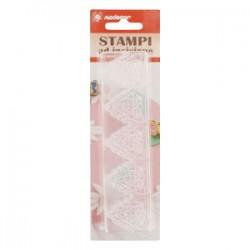 Stampo per bordo Floreale 4 pezzi