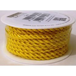 Cordoncino Baumwoll-Kordel giallo