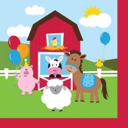 Tovaglioli Grandi Farmhouse Fun